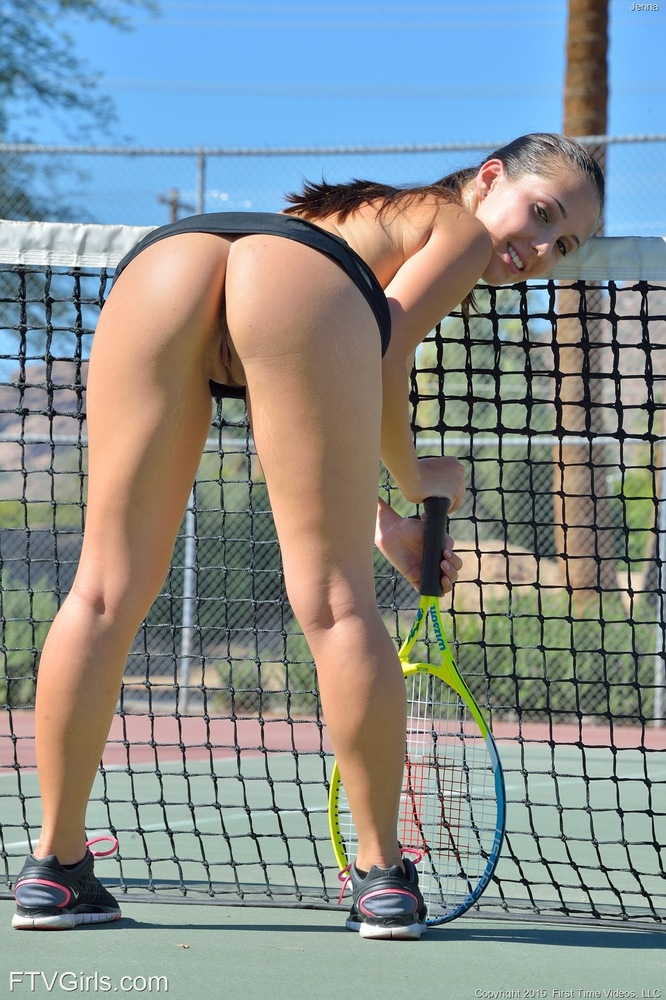 Similar. Now Pussy slips in tennis commit error