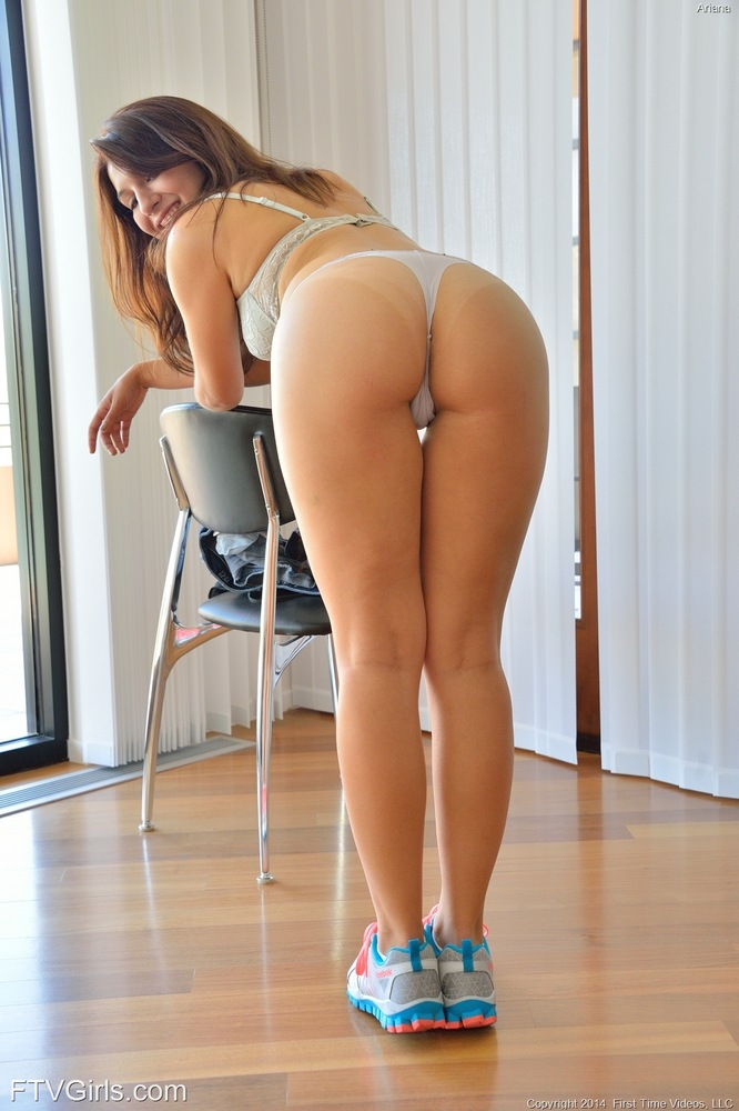 Opinion Bent over pussy shots in thong think, that