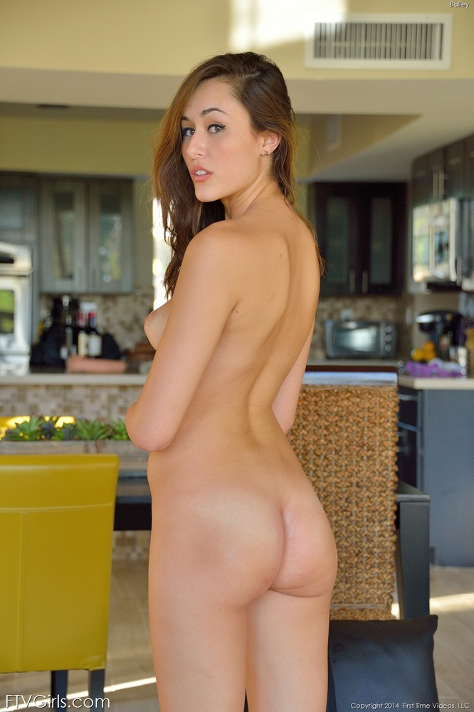 Perfect round butt nude