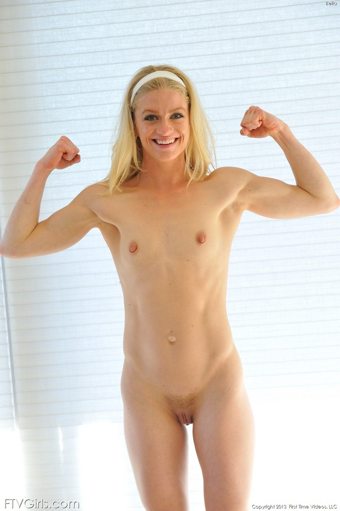 young muscle naked women