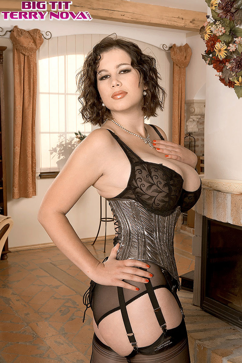 Are Corset girl sexy lingerie seems