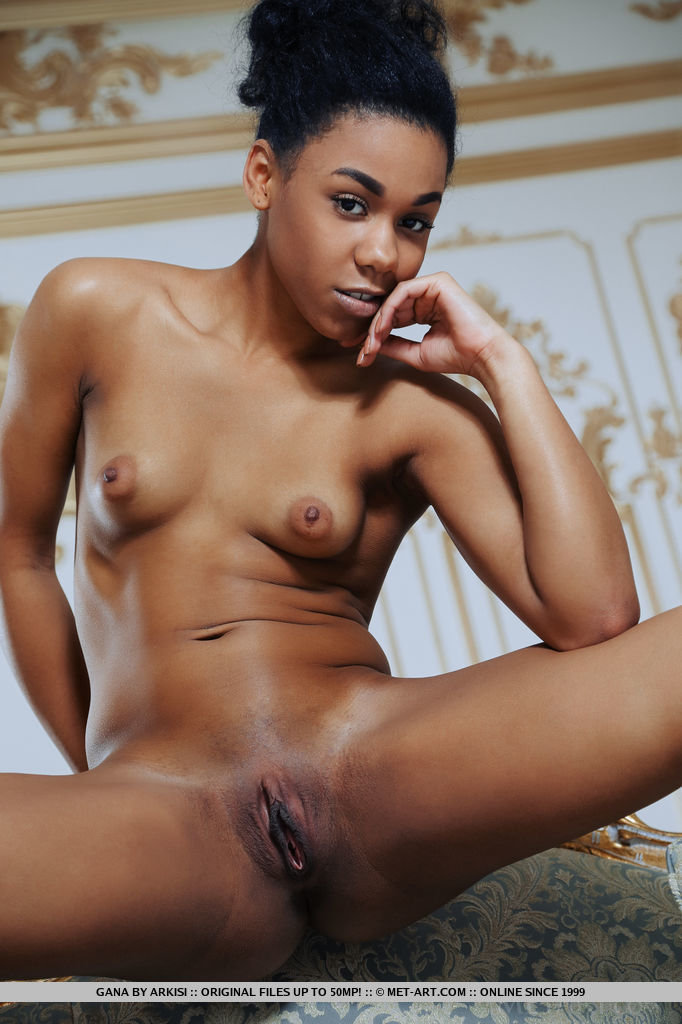 beautiful black woman small breasts naked