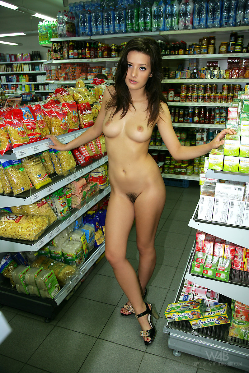 in store naked Girls