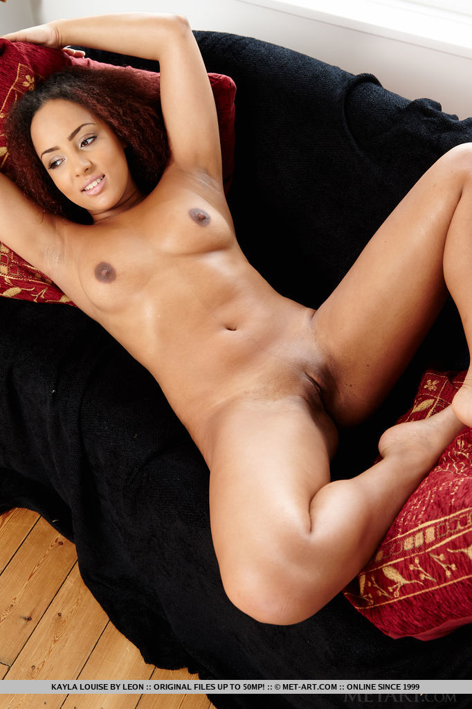Can not lil black nude model