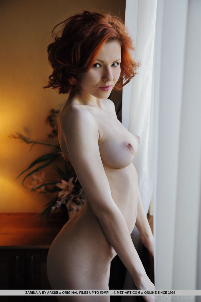 Redhead firm boob God! Well and