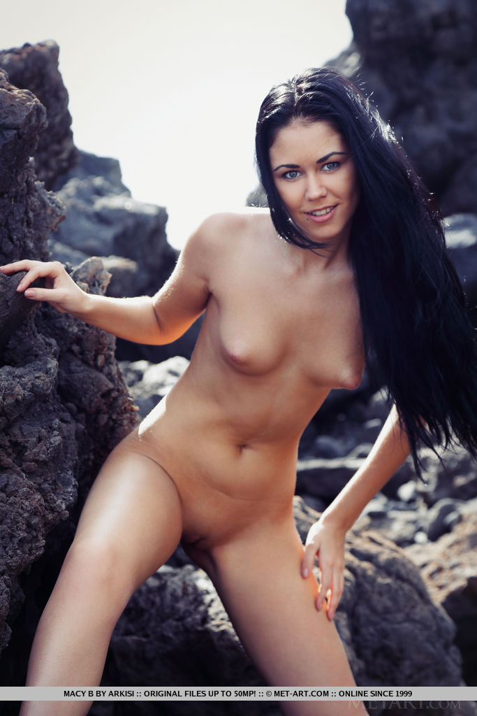 Dark haired beauty Macy B modeling nude among the rocks of a rocky beach foto porno #317792653 | Met Art, Macy B, Babe, Beach, Bikini, Brunette, Close Up, European, Legs, Outdoor, Pussy, Teen, Tiny Tits, porno mobile
