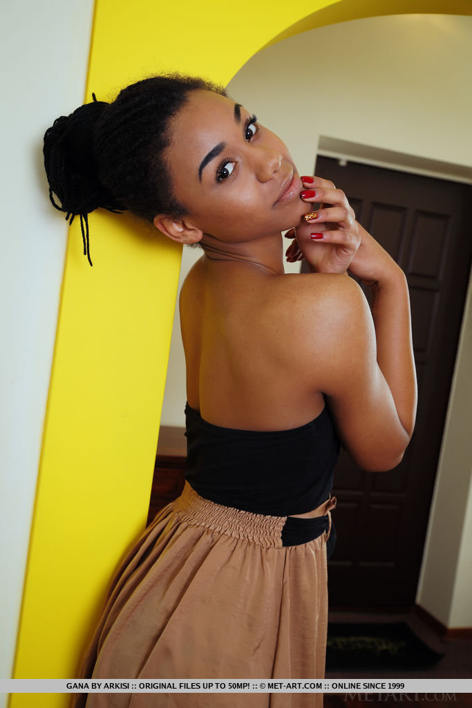 Ebony Teen Puffy Nipples