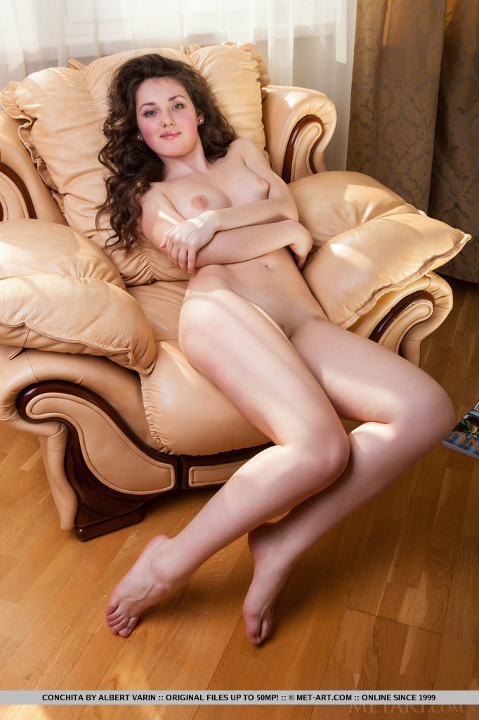 Perfect naked legs