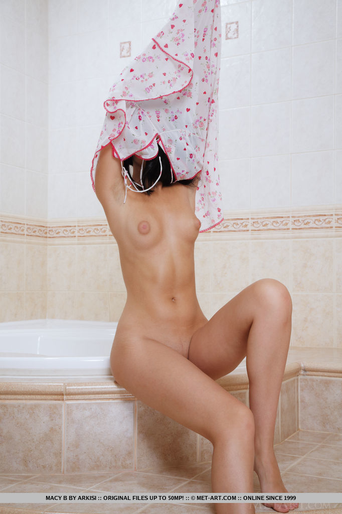 Slender raven-haired bombshell Macy strips down in the bathroom foto porno #319105598 | Met Art, Macy B, Ass, Babe, Bath, Brunette, Close Up, Clothed, European, Legs, Pussy, Shaved, Skirt, Spreading, Teen, Tiny Tits, Undressing, Upskirt, Wet, porno mobile