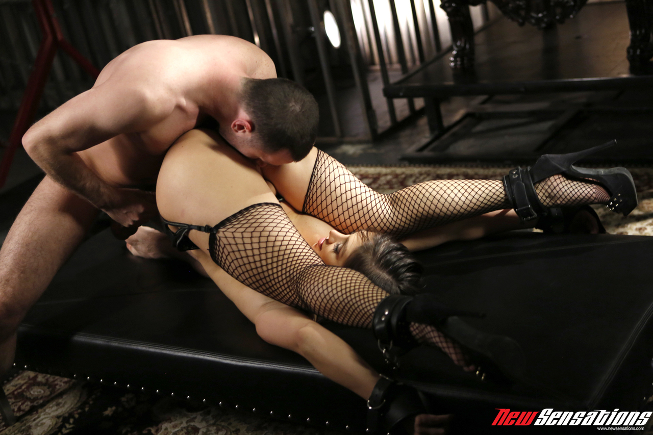 Forced Bondage Sex hot milf lea lexis is forced into hardcore sex while in