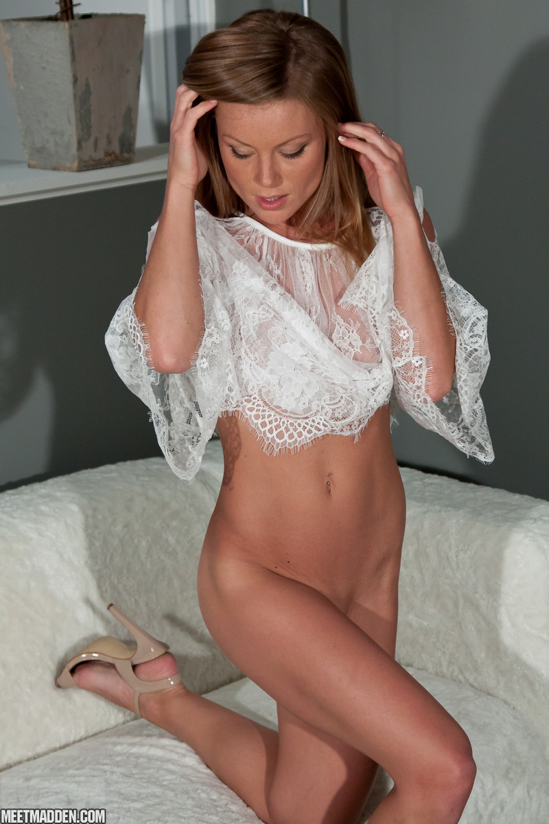 Lingerie see sexy milf through