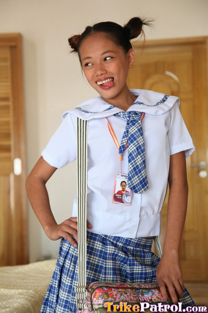 Young uniform porn student pinay