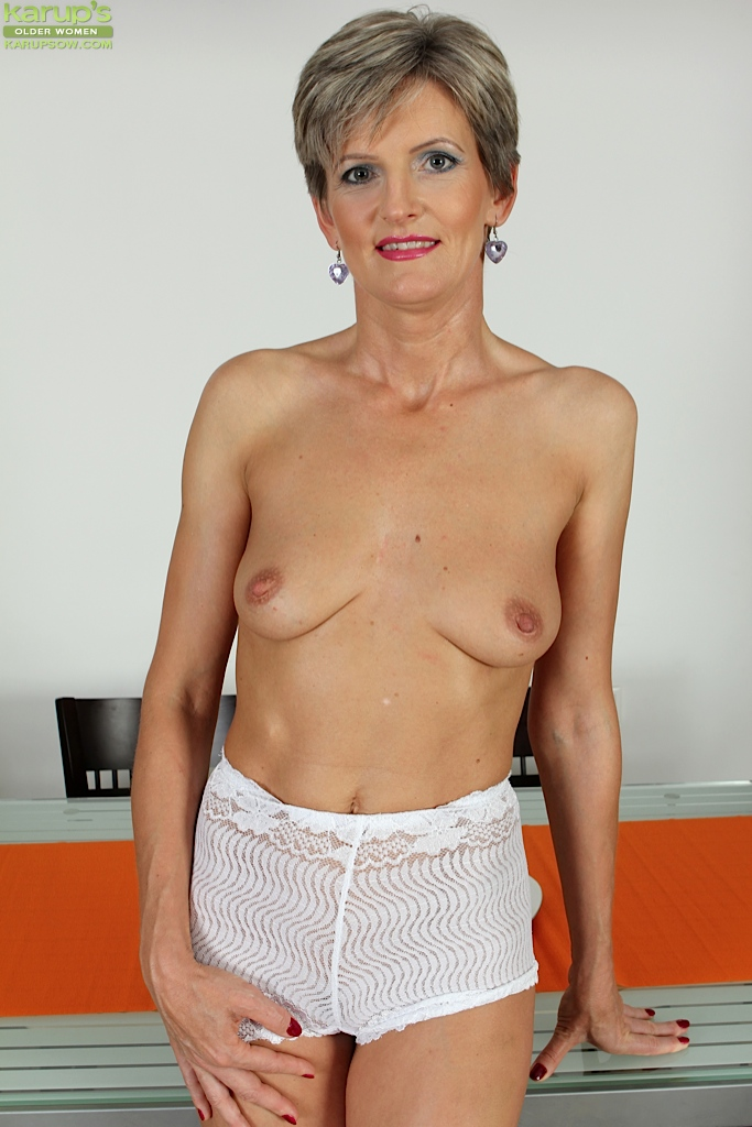 old women with tiny tits