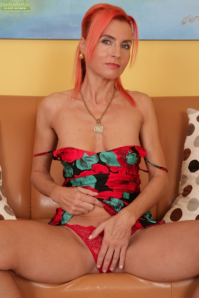 Not red mature porn in lady this