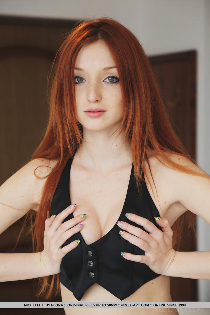 sexy red headed twat