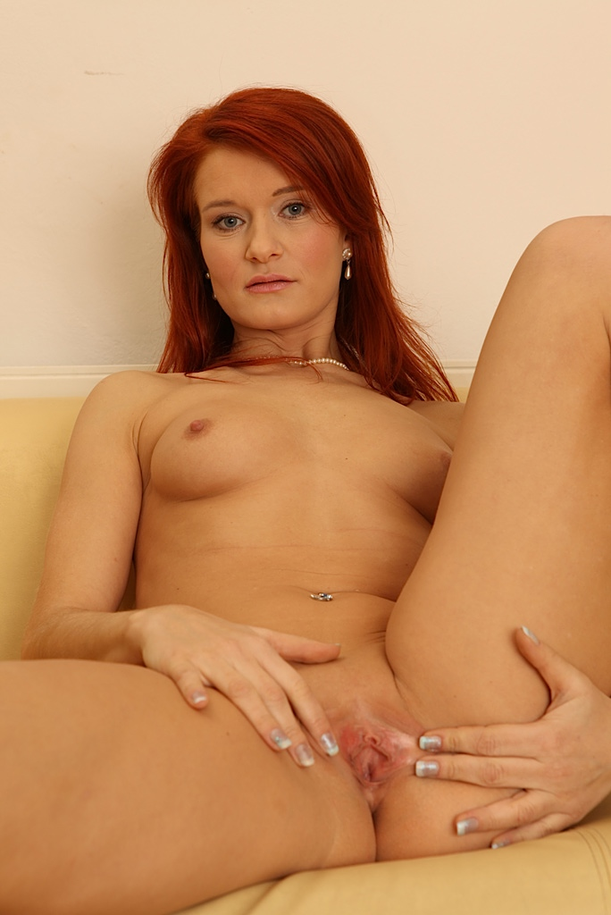 Sexy naked mature ginger