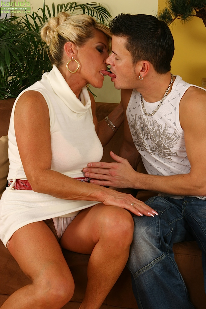 Mature Woman Seduces Boy