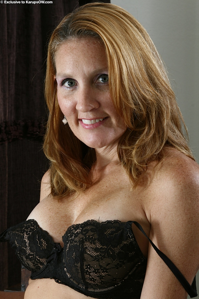 Older women striptease