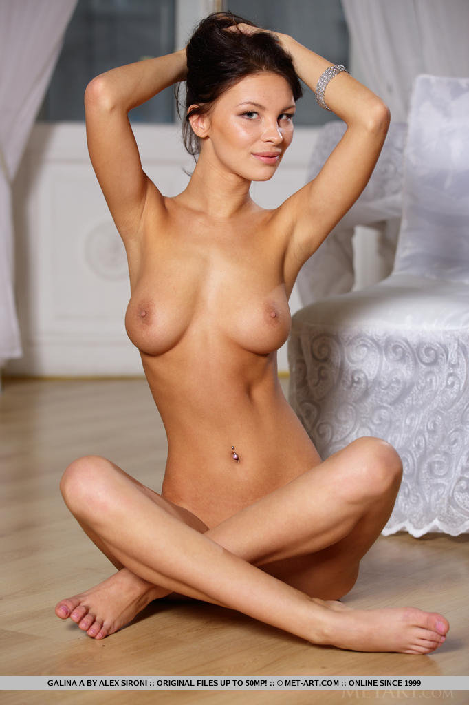 from Lyric skinny busty nude brunette
