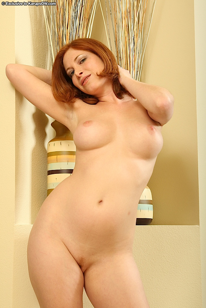 Cute plus size naked