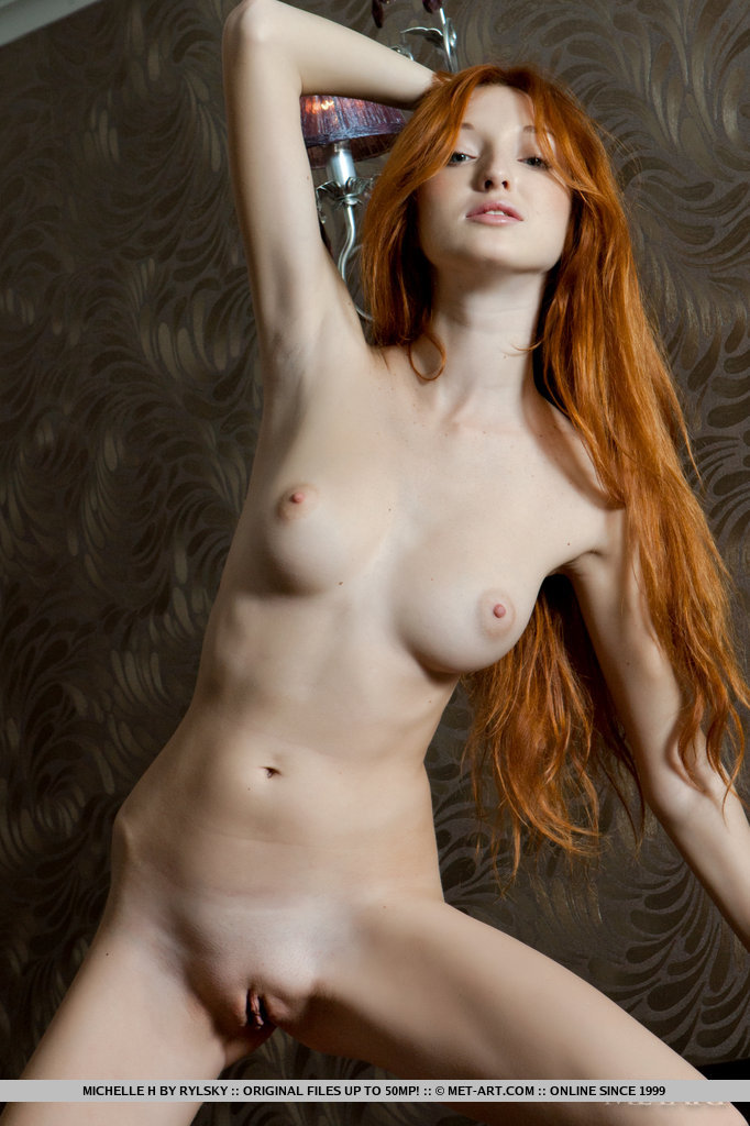 Pity, that beautiful nude red headed women does not