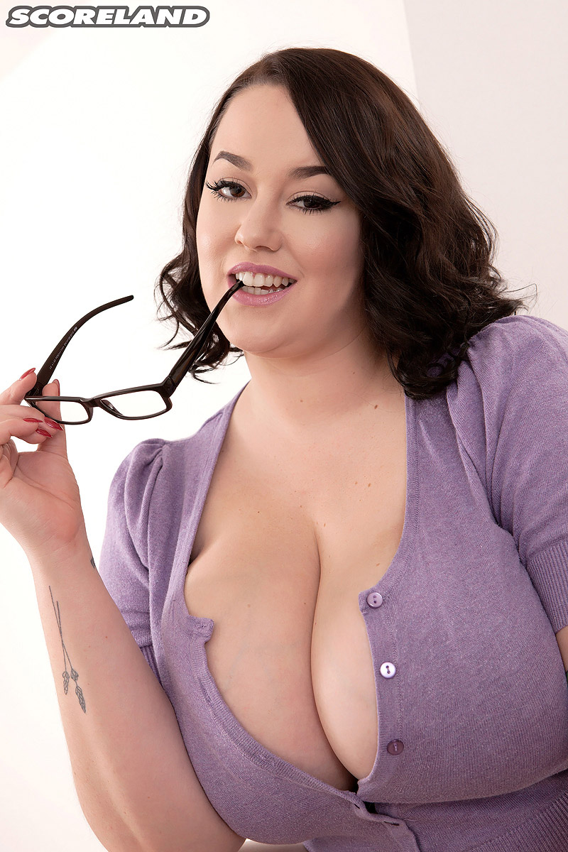 Nerd Boobs Porn nerdy bbw lila payne whips out her giant tits on way to
