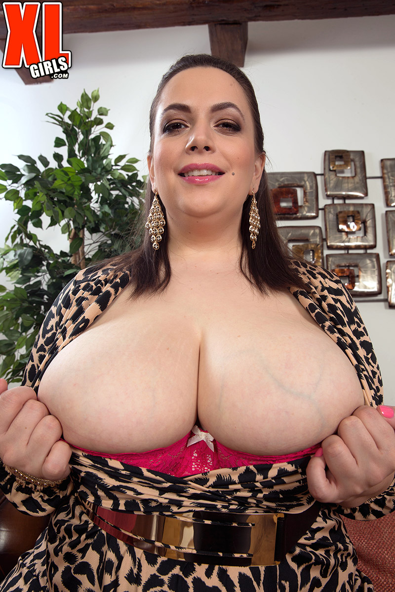 ... BBW MILF Mia Sweetheart in dress airs her huge boobs & flashes hot  upskirt ...