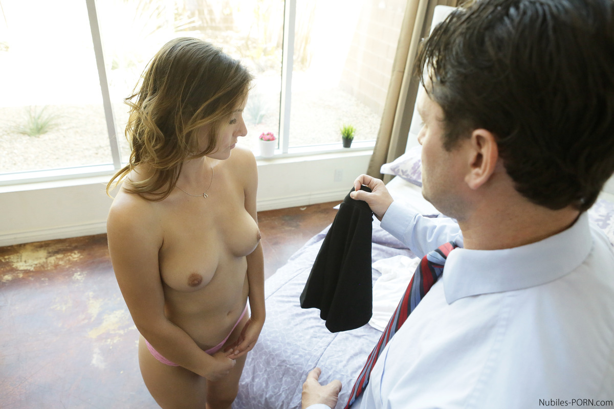 Fucked and spanking spanked schoolgirl