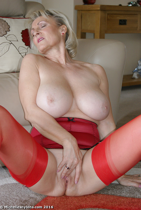 Perhaps shall Blonde mature michelle nylons understood that