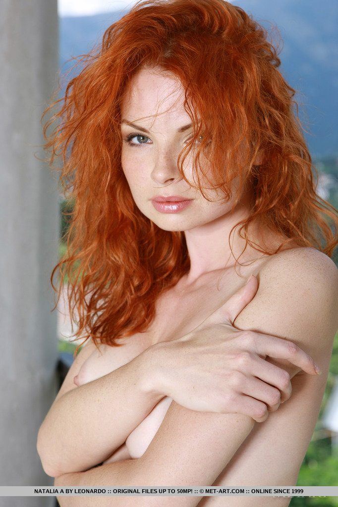 Answer, Gorgeous redhead nude