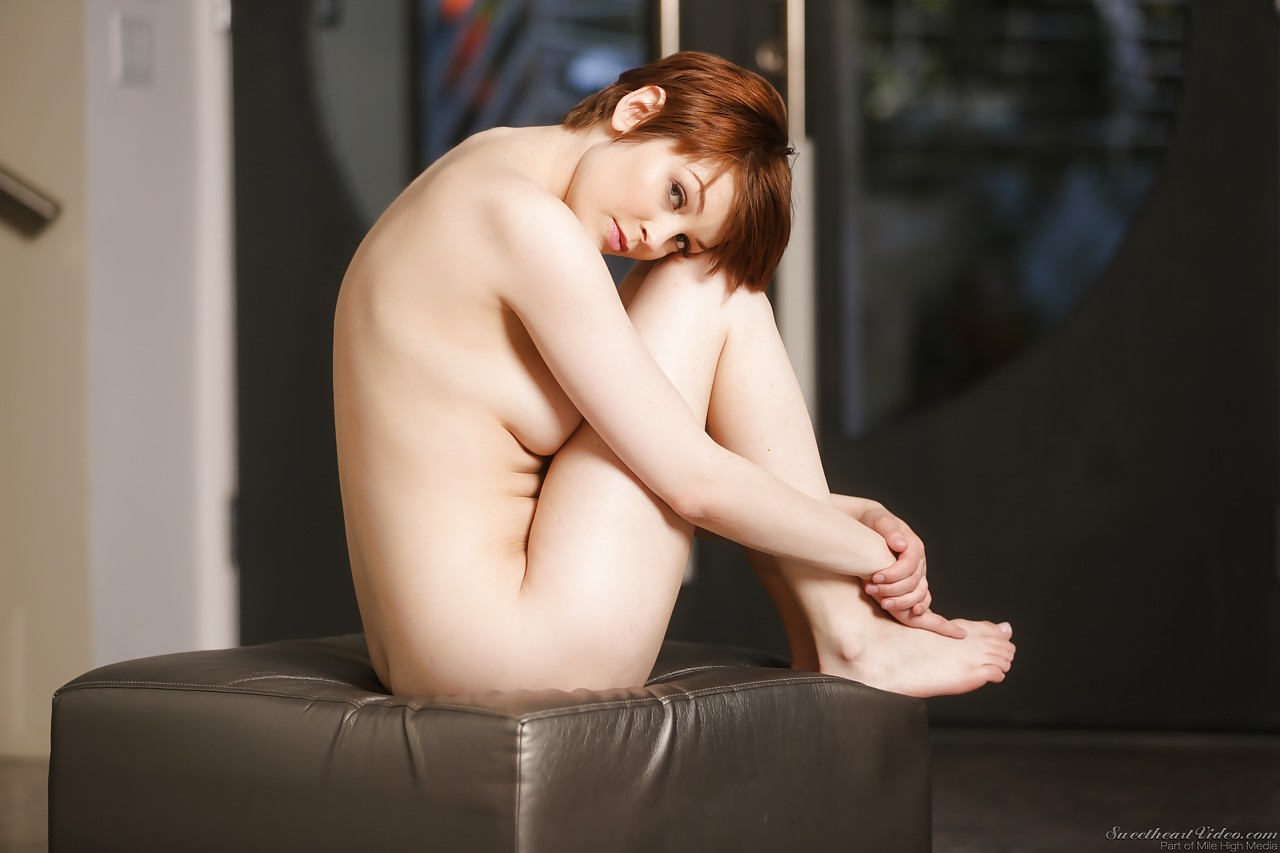 Redhead natural knickers your place