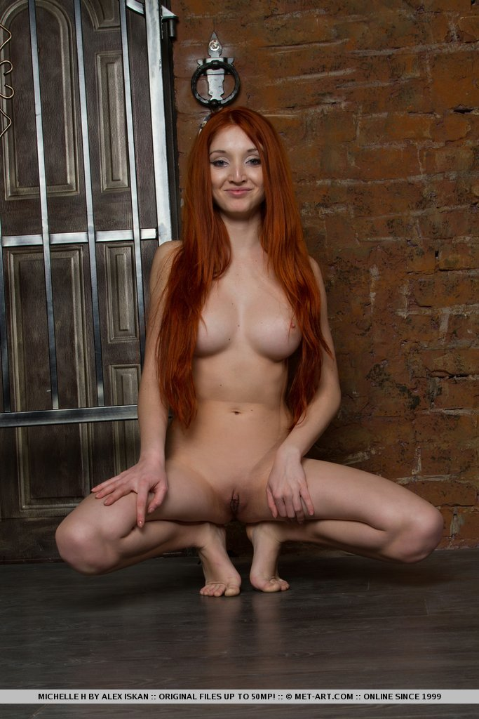 Nude red haired women