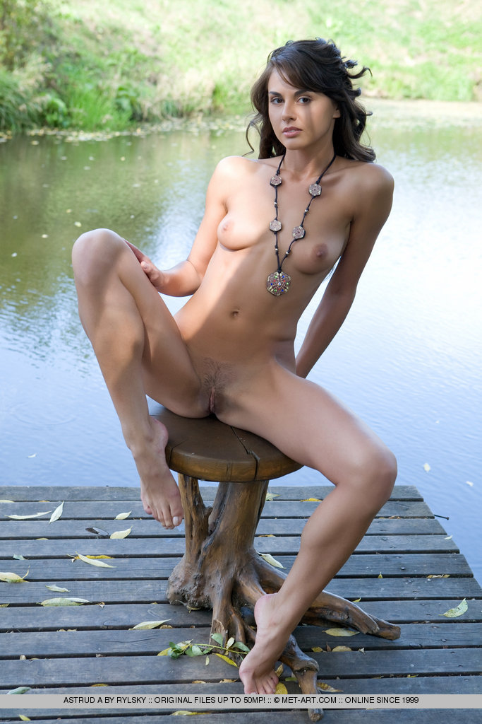 Naked women with docks