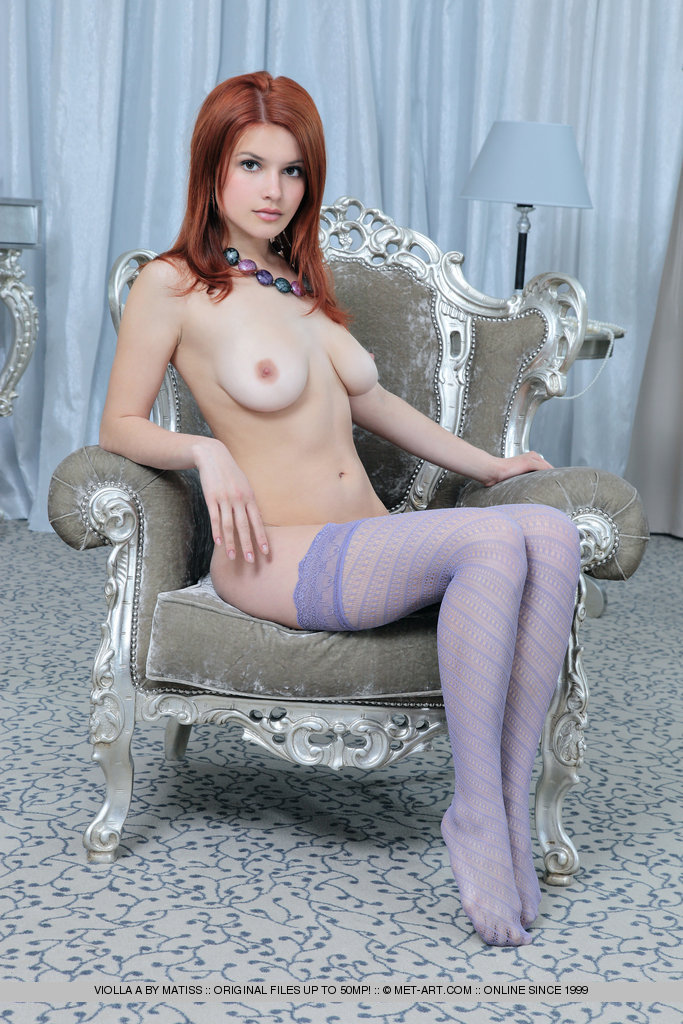 Directly. redhead nude stockings model