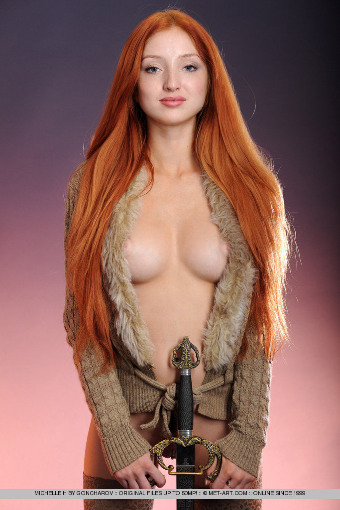 Freckles hot nude red hair women