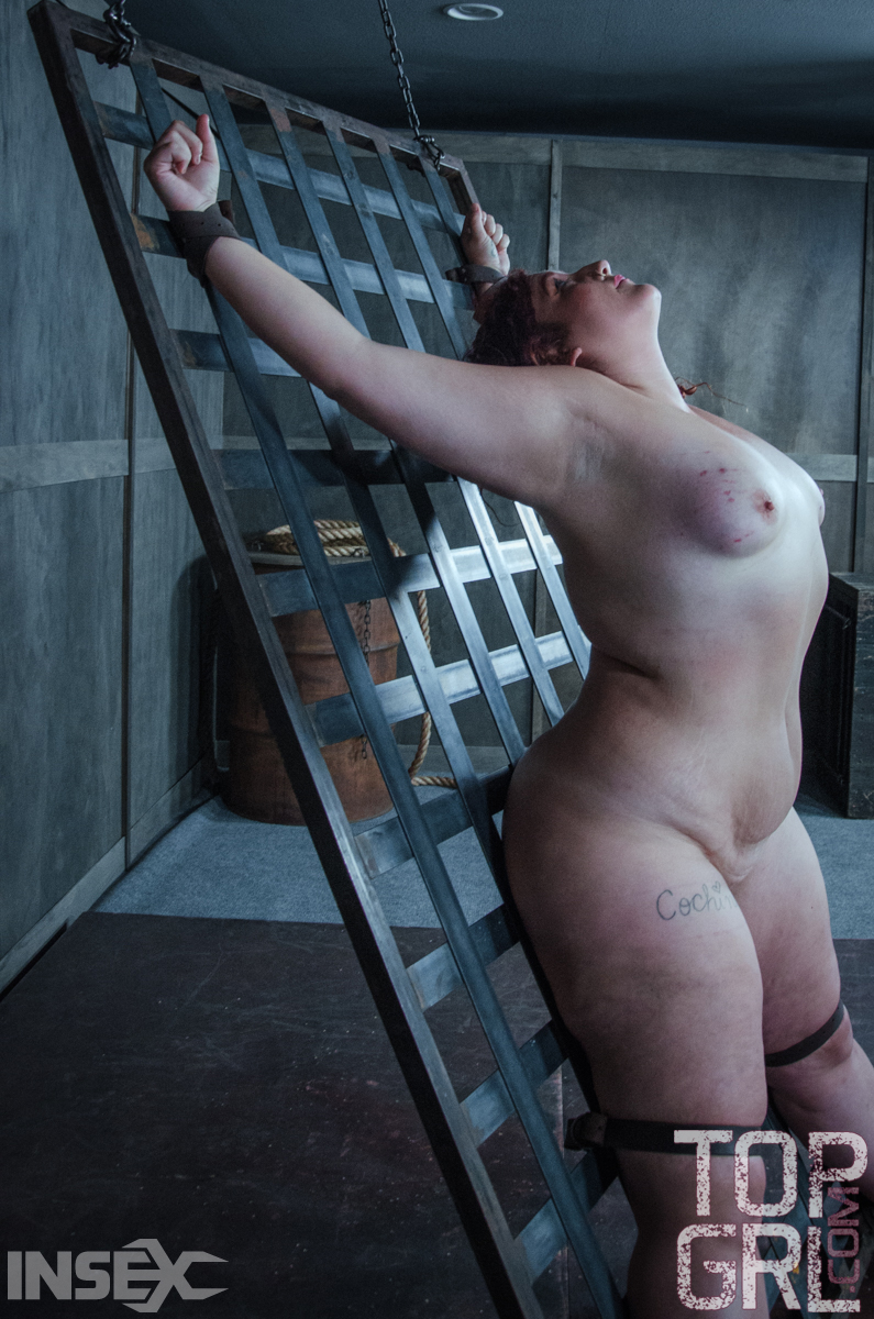 Outdoor woman bdsm chubby