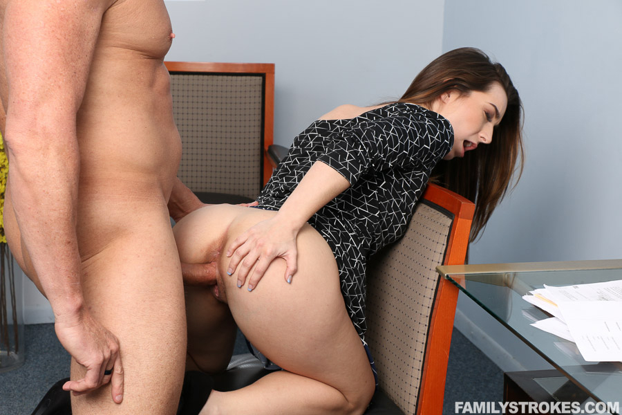 Chinese female boss fuck employee 4