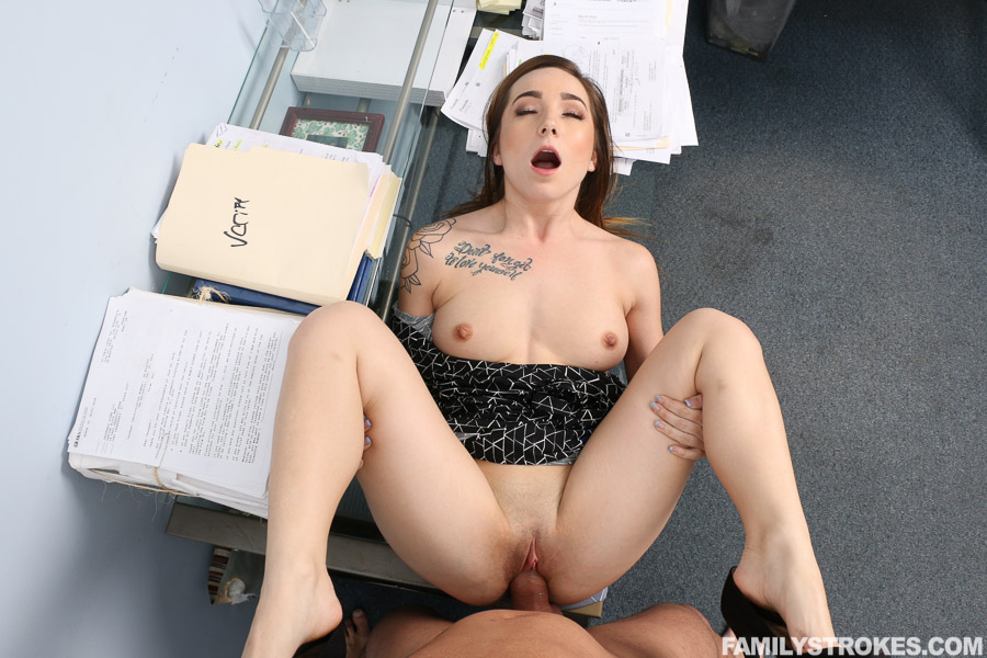 Office dude rides cock