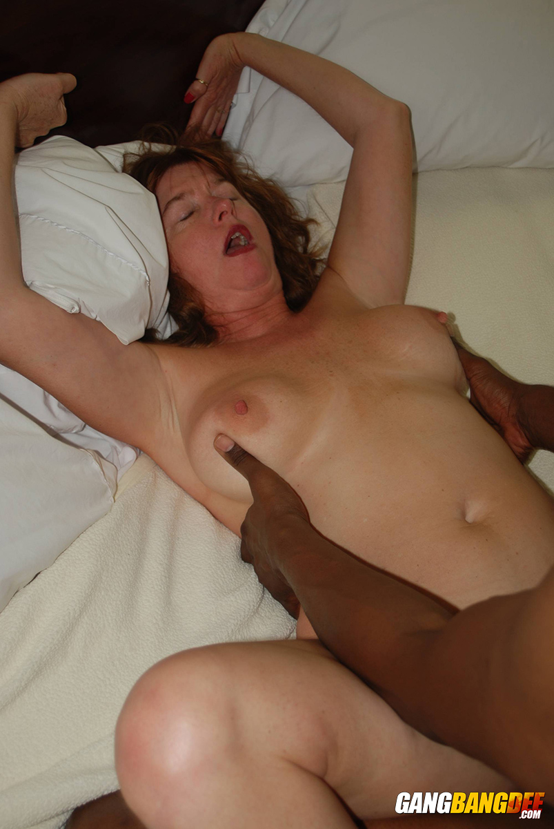 Mature granny interracial porn