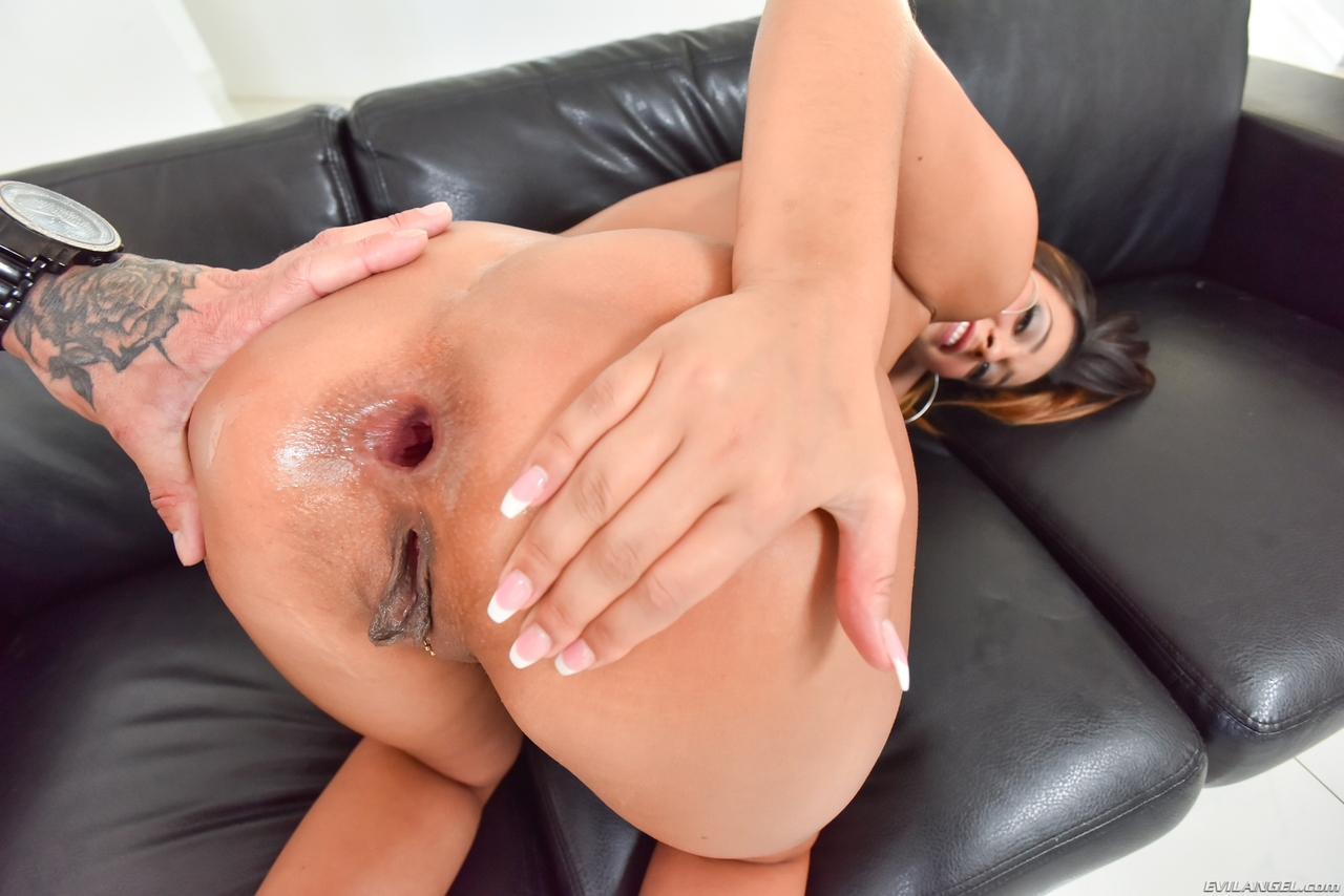 hot anal fucking on a chair