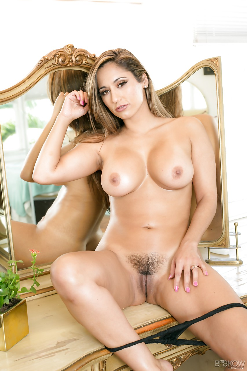 Busty reena sky earns facial after godly fucking performance