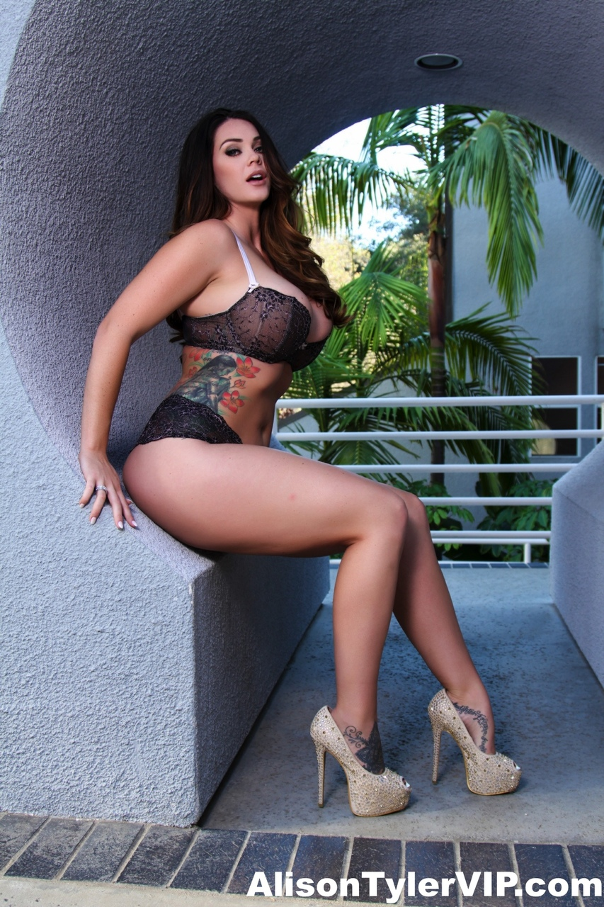 Alison Tyler Nude Pics solo model alison tyler poses non nude in sexy lingerie