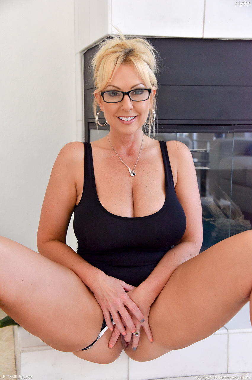 A milf and a bunch of cocks in the wood 1 9