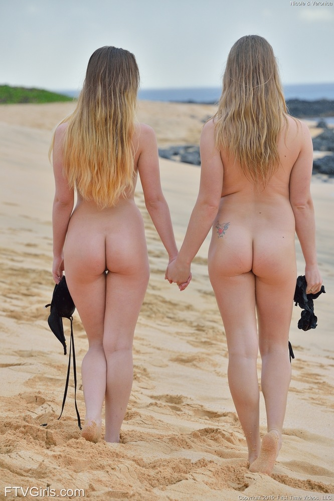 Teen ass at nude beach