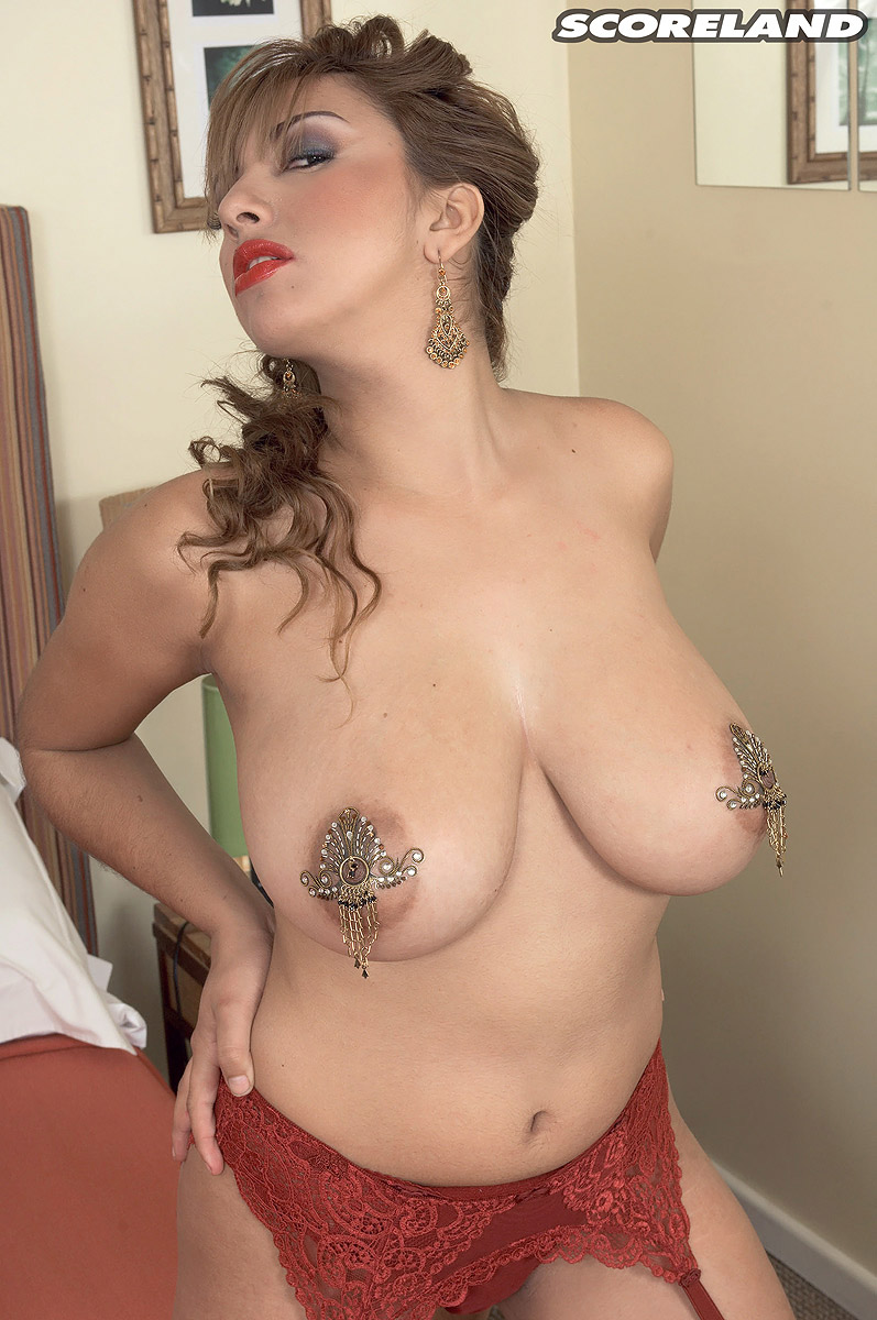 Big tits pasties