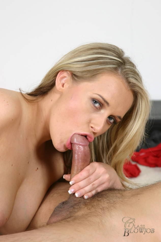 Hot Blonde Big White Cock
