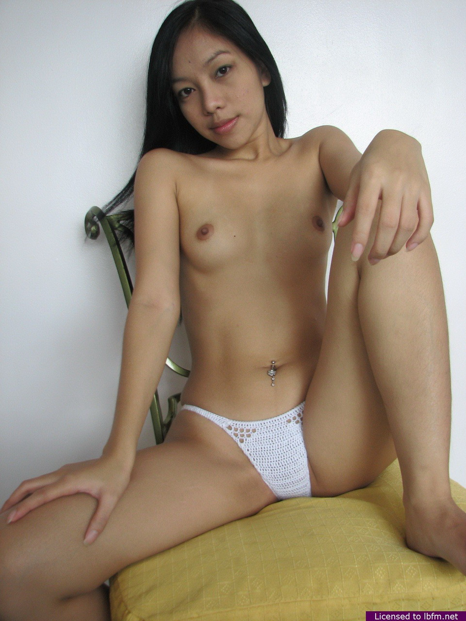 Variant possible Nude asian girl chair