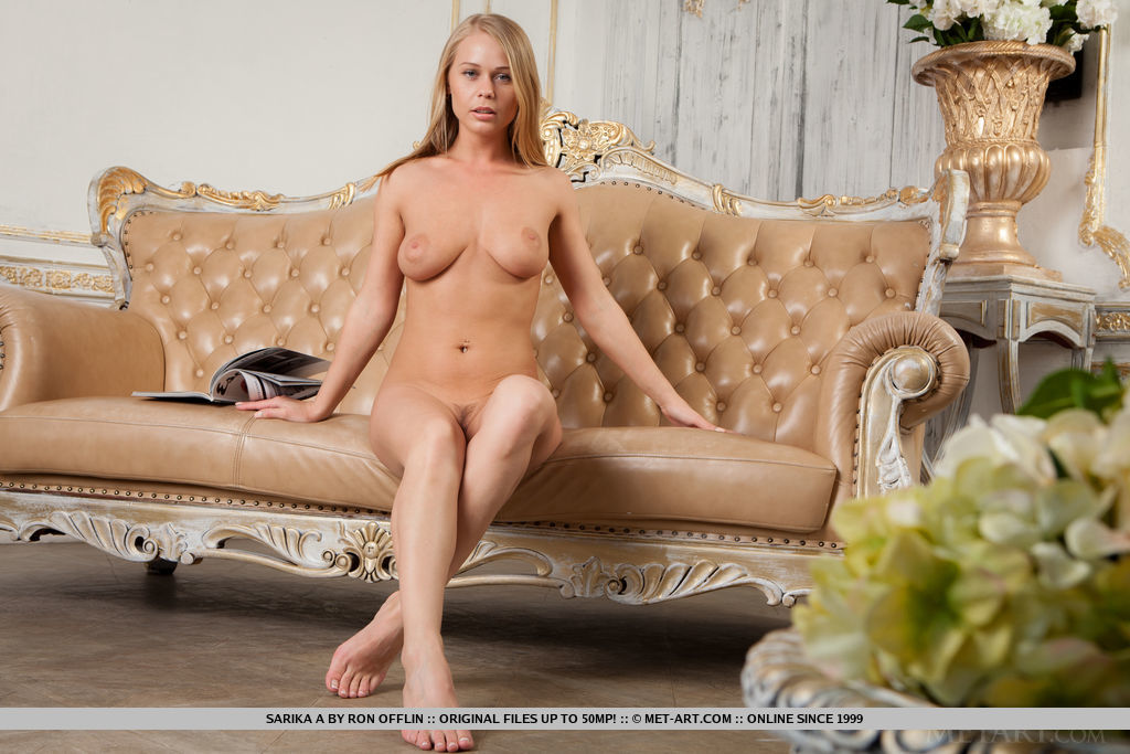 Nifty bleached-blond Sarika a demonstrating her delicate perky melons & stretching uncovered on the diwan porn photo #324823819 | Met Art, Sarika A, Ass, Babe, Big Tits, Blonde, European, Hairy, High Heels, Legs, Pussy, Spreading, Teen, mobile porn