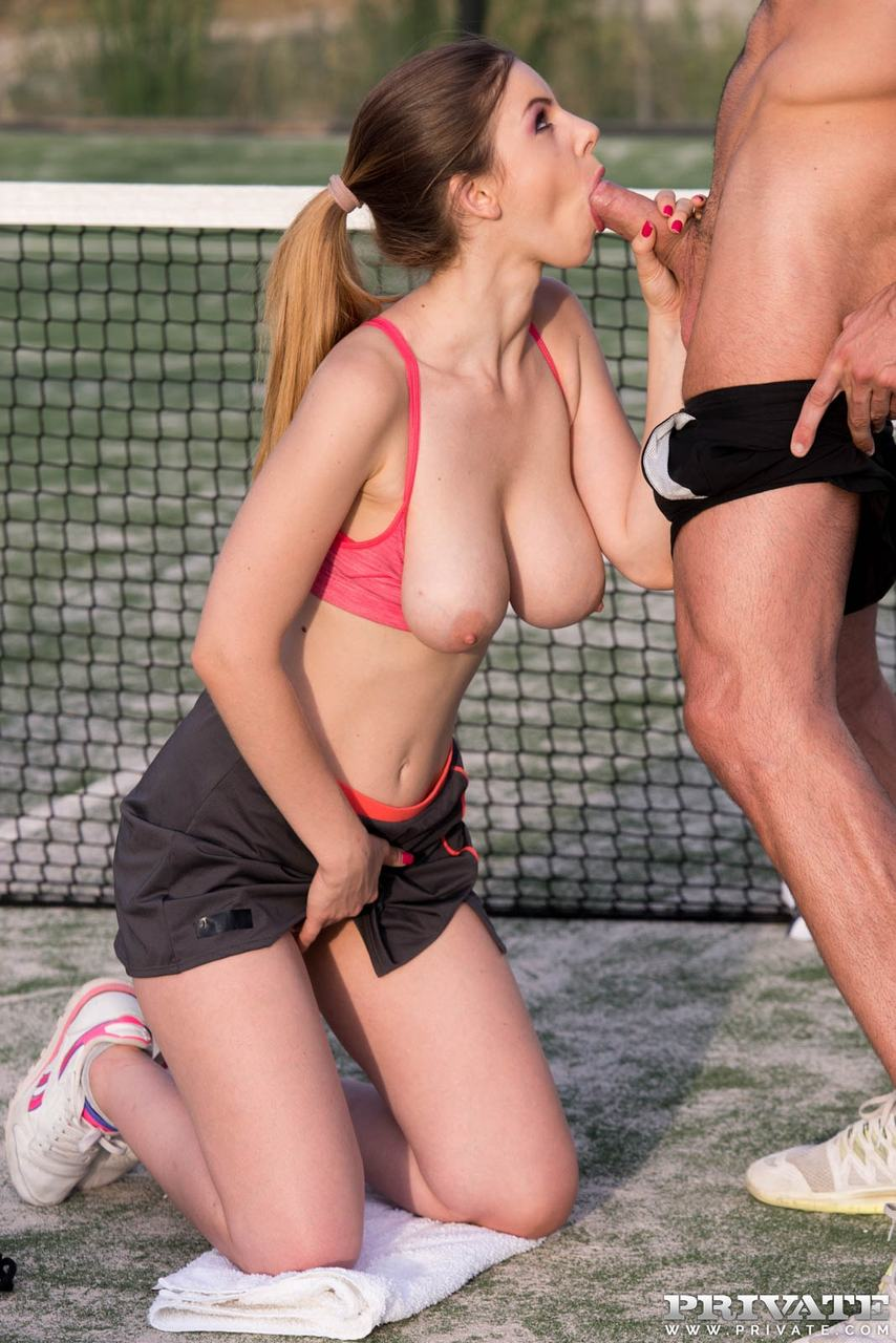 Tennis Player Gets Fucked