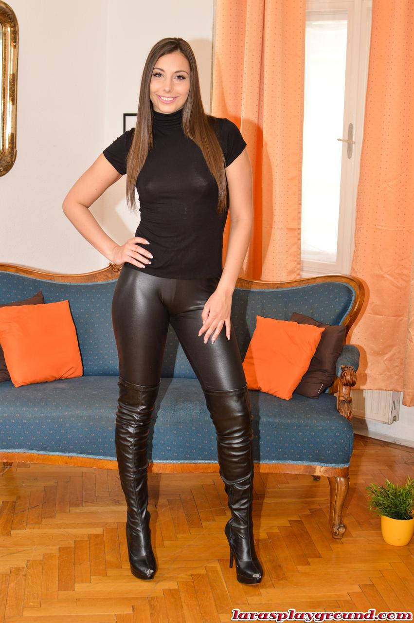 pants hot Lara latex black
